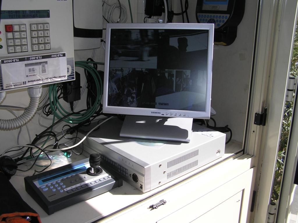 Impianto di videosorveglianza presso Q8 e Tamoil