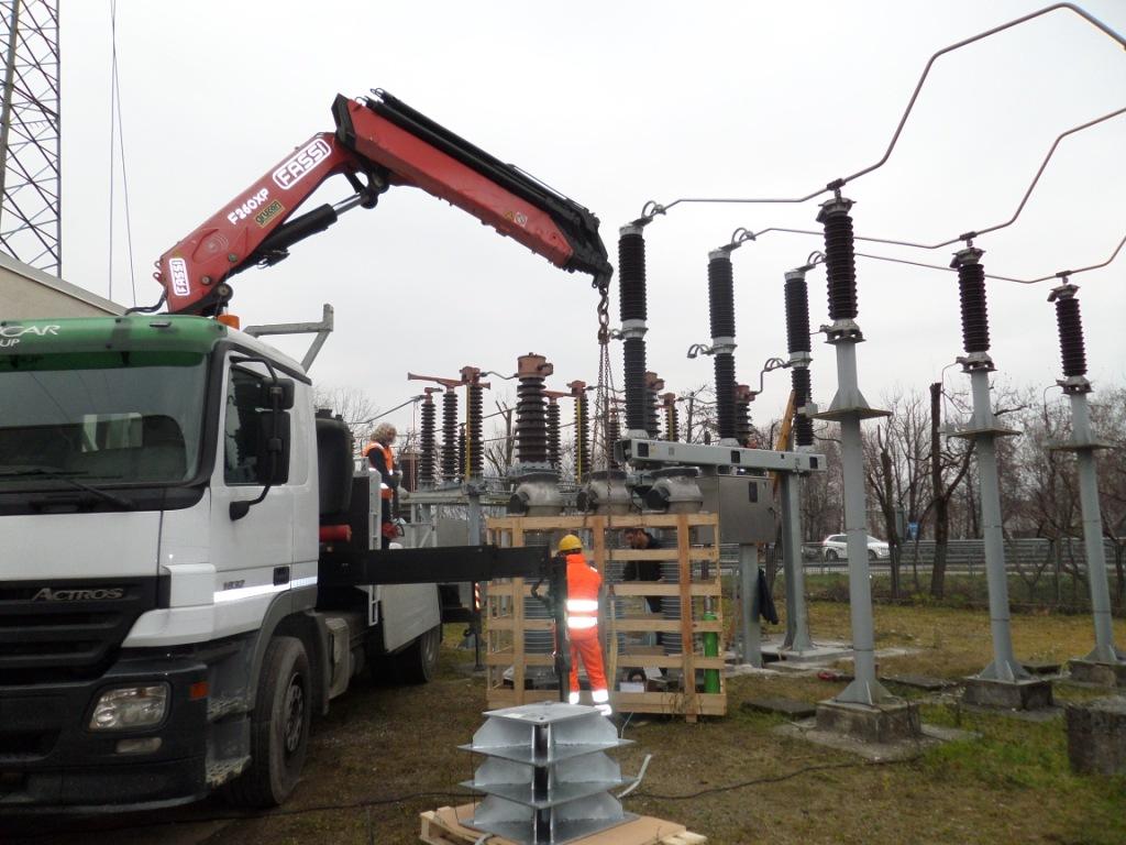 Trasformatori amperometrici AT presso Rodacciai S.p.A.