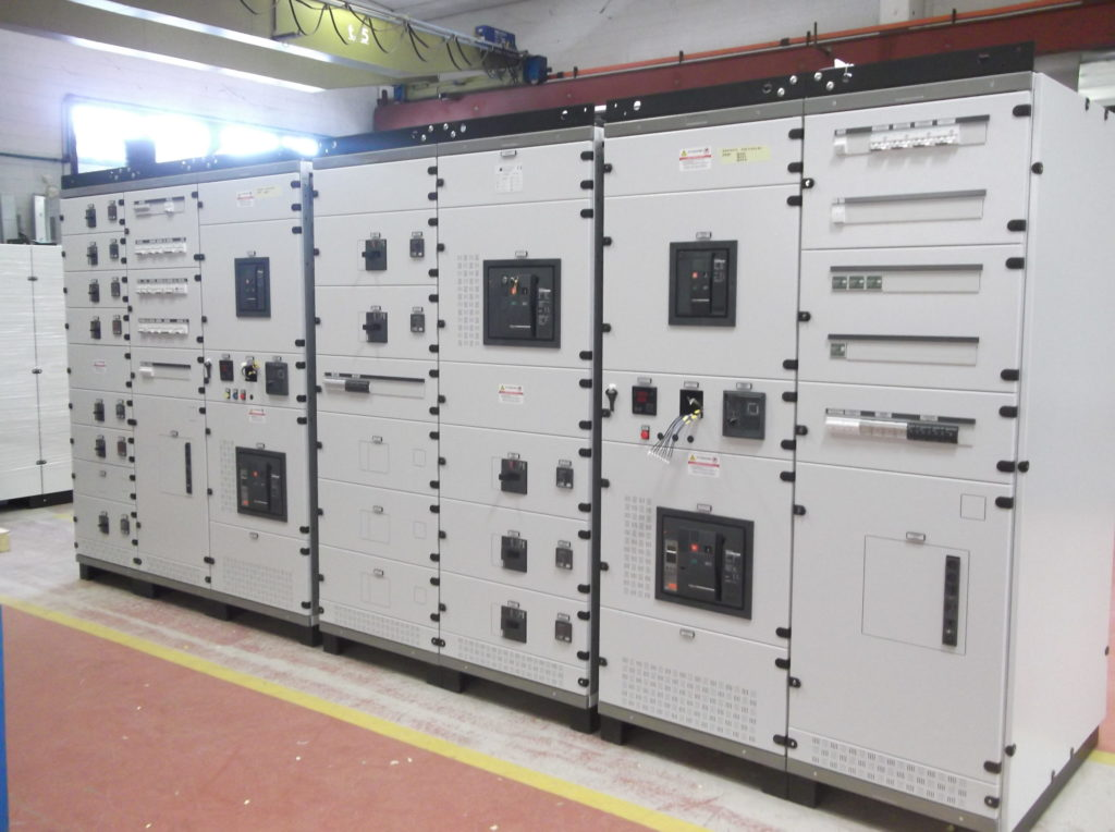 Power Center presso stabilimento settore alimentare
